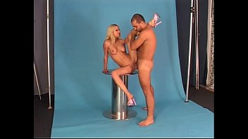 Largest gangbang photos - Shes fucked on a photo shoot