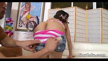 Teenie tiny girl fucked silly Tia Cyrus 3 92