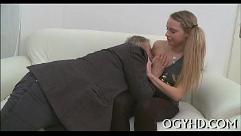 Free videos of old women fucking - Crazy old lad licks young pussy