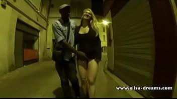 Dream lover femdom Sucking my black lover in the street