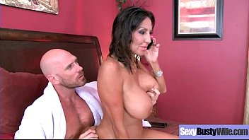 (Tara Holiday) Sexy Busty Mature Lady Love To Bang Hard On Camera video-26