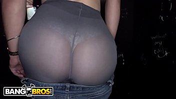Bangbros - Sexy Big Booty Babe Carmen Ross In A Dank Glory Hole, Sucking And Fucking