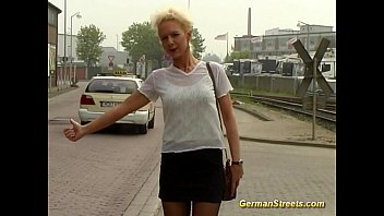 Car in sex wash - German is fucked in car washing
