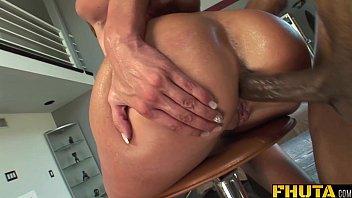 FHUTA - A Big Black Cock in Her Titght Ass | Video Make Love