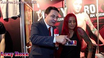 Lexy Roxx gives a blowjob lesson for Andrea Diprè
