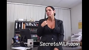 Older Slut Fucks Hard In The Office