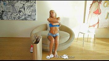 4K Tiny4K - Super tiny Kacey Jordan is pounded by big dick thumbnail