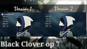 Black clover opening 7 v1 v2