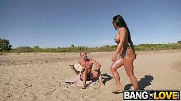 Image: Honey Demon Fucks Hard on the Beach