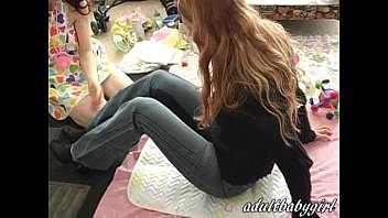 Adults put back into diapers - Adultbabygirls diapered ladies infantilism 5