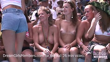 Seminole nudist resort - Exhibitionist milf wet t-shirt contest at a nudist resort