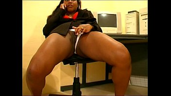 Cat pee on carpet - Office pissing girl