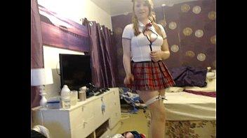 naughty school girl