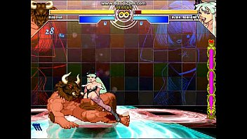 Hentai arcade adult - The queen of fighters - minotaur / morrigan