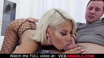 Blonde milf Bridgette ass fucked in stockings (Jessy Jones, Bridgette B.) Thumb
