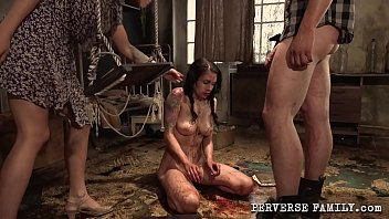 Perverse Family Horny Dad And His Good Little Daughter