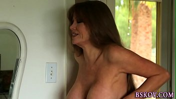 Aha facial wash Busty milf gets facial