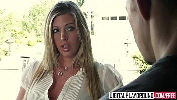 Samantha saint lesbian Slutty blonde samantha saint shows off her pierced nips and clit - digital playground