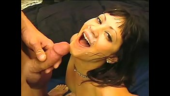 Stephanie is being orientated to deepthroats, blowjobs and titty fucking and she is learning really fast