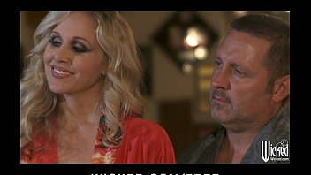 curious couple invite jessica drake for their first threesome f