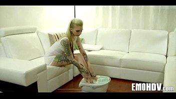 Emo slut with tattoos 0620