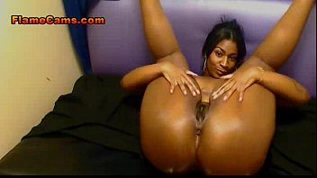 Curvy Ebony With A Big Ass Fills Pussy