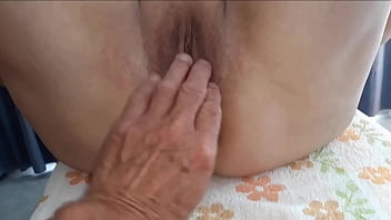 Pussy and asshole wide open
