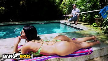 Bikini fat porn Bangbros - rose monroe drops that perfect latin booty on bruno dickemzs fat cock anal