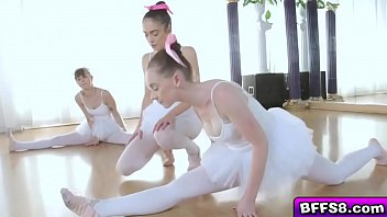 College Babes In A Hot Orgy During Ballet Session