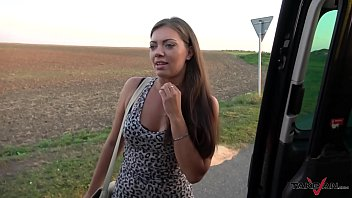 Cum Everywhere For Big Muscle Girl Convinced To Fuck Stranger In Van