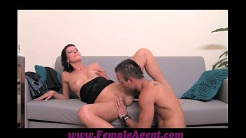 FemaleAgent Cums to command image