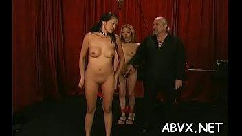 Amateur chick with precious assets amazing xxx bondage