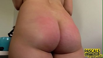 Throated submissive gets fucked roughly