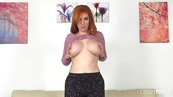 Lauren Phillips Is a Busty Fiery Red Head Who Loves Sex