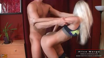 Doggy and Standing Fuck With Girl in Yoga Panties! AliceMargo.com