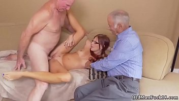 Old and young playmate's comrade's daughter first time Frannkie And