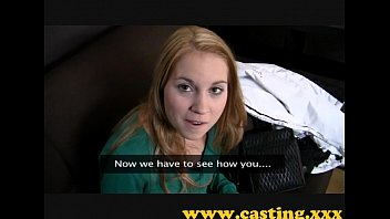 Casting - Beautiful nervous teen