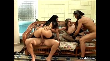 Two Naughty Hotties Gets Double Penetrated