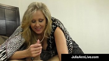 Hot Classy Milf Julia Ann Takes A Cock In Her Mouth & Hands! pornhub video