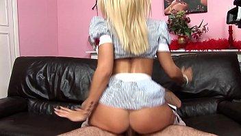 Blonde pornstar - Natasha marley blonde with big boobs marley sucks and fucks in sexy cos