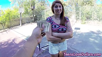 College girl fucking for book money - Real teen jizz drenched