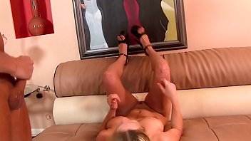 Skullfucked! Brutal Relentless Throat Fucking, Gagging & Cum Swallow. Blond Teen with great Tits. thumbnail