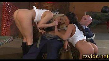 Alexis Texas and Rachel Starr amazing threesome fucking