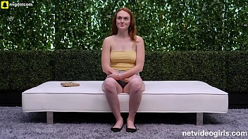 Beautiful Natural Redhead Gives It Up preview image