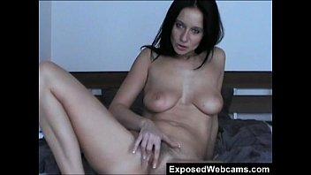 Katie walker naked - Hairy cam whore enza rubbing her pussy