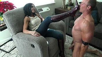 Myspace femdom trampling - Mistress her boots slut