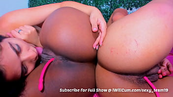 3 Big Butt Colombian Lesbians Eat Each Others Pussy Beautifully