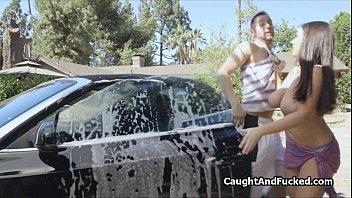 Bikini carwash videos Bigtit bikini carwash babe fucked hard