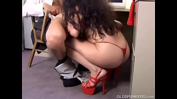 Pics of sexy matures in oantyhose Lovely mature latina old spunker gives a super hot blowjob