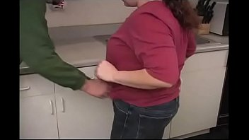 Ass Spanking BBW Housewife